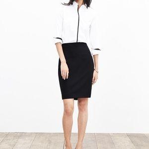 NWT Banana Republic Wool Light Weight Skirt